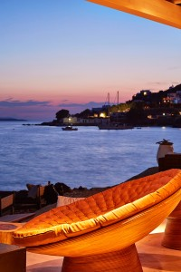 Facilities at Hippie Chic Hotel Mykonos include beach chairs, offering a view of the sea & sunset