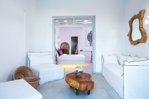 Guests in Hippie Chic Hotel Junior Suite have plenty of space, with a bedroom & living room area